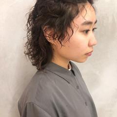 ヘアアレンジ 簡単ヘアアレンジ 前髪アレンジ ミディアム ヘアスタイルや髪型の写真・画像