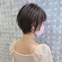ショートヘア ショート 大人ショート ショートボブ ヘアスタイルや髪型の写真・画像