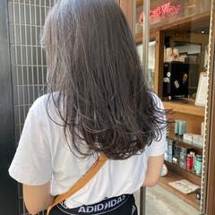 レイヤースタイル アッシュ レイヤーカット ストリート ヘアスタイルや髪型の写真・画像