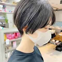 オフィス 大人かわいい ベリーショート デート ヘアスタイルや髪型の写真・画像