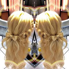 結婚式 パーティ モード ヘアアレンジ ヘアスタイルや髪型の写真・画像