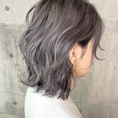 ショート イルミナカラー ハイライト ヘアカラー ヘアスタイルや髪型の写真・画像