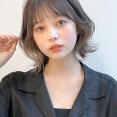 インナーカラー 韓国ヘア アンニュイほつれヘア デート ヘアスタイルや髪型の写真・画像