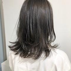 ナチュラル ミディアム パーティー オフィス ヘアスタイルや髪型の写真・画像