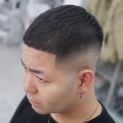 メンズショート スキンフェード メンズヘア ショート ヘアスタイルや髪型の写真・画像