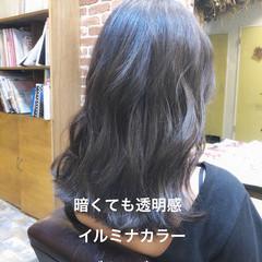 デジタルパーマ パーマ ゆるふわパーマ ナチュラル ヘアスタイルや髪型の写真・画像