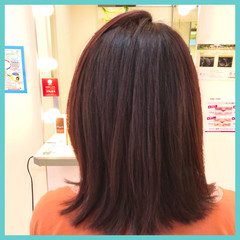 ラベンダー ミディアム ラベンダーピンク ラベンダーカラー ヘアスタイルや髪型の写真・画像