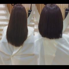 髪質改善 髪質改善トリートメント 艶髪 ナチュラル ヘアスタイルや髪型の写真・画像