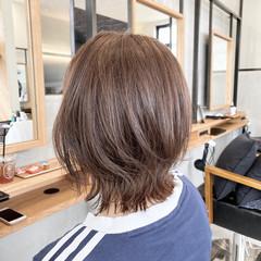 外ハネ ボブ レイヤースタイル 外ハネボブ ヘアスタイルや髪型の写真・画像