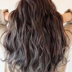 バレイヤージュ 髪質改善トリートメント 髪質改善カラー グラデーションカラー ヘアスタイルや髪型の写真・画像