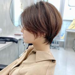 ショート ベリーショート ショートヘア インナーカラー ヘアスタイルや髪型の写真・画像