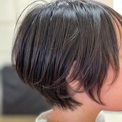 ミニボブ ショート ショートボブ ベリーショート ヘアスタイルや髪型の写真・画像