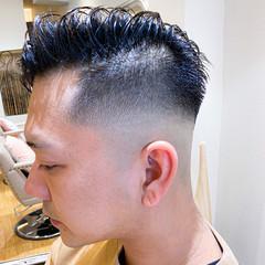 ショート メンズカット メンズヘア スキンフェード ヘアスタイルや髪型の写真・画像