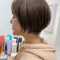 ショートボブ くびれボブ ショートヘア ショート ヘアスタイルや髪型の写真・画像