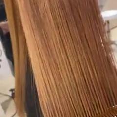 髪質改善トリートメント 艶髪 髪質改善 韓国ヘア ヘアスタイルや髪型の写真・画像