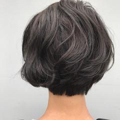 モード グレージュ ヘアアレンジ 暗髪 ヘアスタイルや髪型の写真・画像