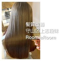 ナチュラル ヘアカラー 美髪 ロング ヘアスタイルや髪型の写真・画像