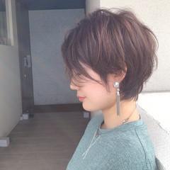 ショートヘア ショートボブ ベリーショート フェミニン ヘアスタイルや髪型の写真・画像