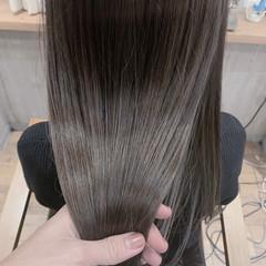 ショートボブ ベリーショート セミロング インナーカラー ヘアスタイルや髪型の写真・画像