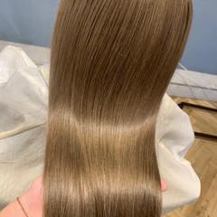 髪質改善トリートメント コンサバ ロング トリートメント ヘアスタイルや髪型の写真・画像