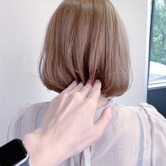 ショートボブ ミニボブ ボブ ナチュラル ヘアスタイルや髪型の写真・画像