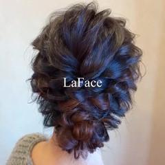 シニヨン ロング 結婚式 ヘアアレンジ ヘアスタイルや髪型の写真・画像