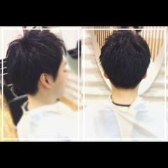 スポーツ オフィス ベリーショート 黒髪 ヘアスタイルや髪型の写真・画像