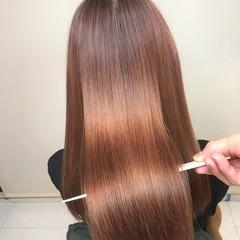髪質改善カラー ナチュラル 髪質改善 ロング ヘアスタイルや髪型の写真・画像