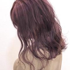 フェミニン 髪質改善トリートメント ブリーチカラー 髪質改善 ヘアスタイルや髪型の写真・画像