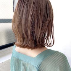 極細ハイライト ミディアムレイヤー ナチュラル デジタルパーマ ヘアスタイルや髪型の写真・画像