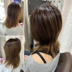 ウルフカット ウルフパーマヘア ガーリー ウルフパーマ ヘアスタイルや髪型の写真・画像