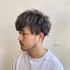 メンズカット ストリート メンズカラー メンズヘア ヘアスタイルや髪型の写真・画像