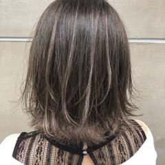 ボブ アウトドア 簡単ヘアアレンジ 透明感 ヘアスタイルや髪型の写真・画像