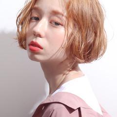 デジタルパーマ ボブ  パーマ ヘアスタイルや髪型の写真・画像