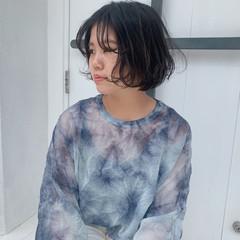 フェミニン ヘアスタイル ボブアレンジ ボブ ヘアスタイルや髪型の写真・画像
