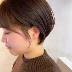 コンパクトショート ショートヘア ショート ショートボブ ヘアスタイルや髪型の写真・画像