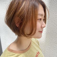 ショートヘア ショート ショートボブ アッシュベージュ ヘアスタイルや髪型の写真・画像