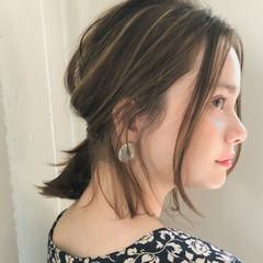 ガーリー 夏 大人かわいい オフィス ヘアスタイルや髪型の写真・画像