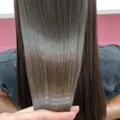 髪質改善トリートメント 可愛い 艶髪 ロング ヘアスタイルや髪型の写真・画像
