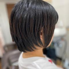 ショートボブ モード ショートヘア ショート ヘアスタイルや髪型の写真・画像