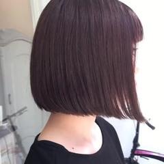 切りっぱなしボブ ショートヘア 切りっぱなし ボブ ヘアスタイルや髪型の写真・画像