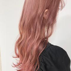 ラベンダーカラー ピンクベージュ ナチュラル ピンク ヘアスタイルや髪型の写真・画像