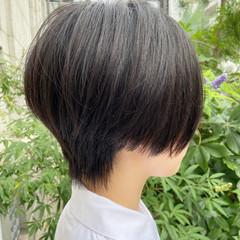ショート 大人ショート ミニボブ ハンサムショート ヘアスタイルや髪型の写真・画像