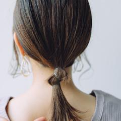 ミディアム 簡単ヘアアレンジ ヘアアレンジ ふわふわヘアアレンジ ヘアスタイルや髪型の写真・画像