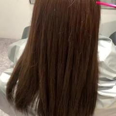 ナチュラル ロング トリートメント 髪質改善カラー ヘアスタイルや髪型の写真・画像