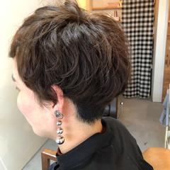 ベリーショート くせ毛 ショートバング ショート ヘアスタイルや髪型の写真・画像