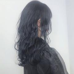 ナチュラル グレージュ ロング ブルージュ ヘアスタイルや髪型の写真・画像