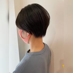 ミニボブ ショートヘア ショート ベリーショート ヘアスタイルや髪型の写真・画像