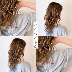 ミルクティーベージュ ミルクティー ハイライト グレージュ ヘアスタイルや髪型の写真・画像