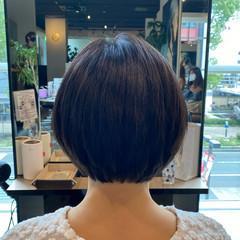 艶髪 フェミニン アンニュイほつれヘア ショートボブ ヘアスタイルや髪型の写真・画像